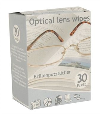 Rengøringsdug briller 30 st