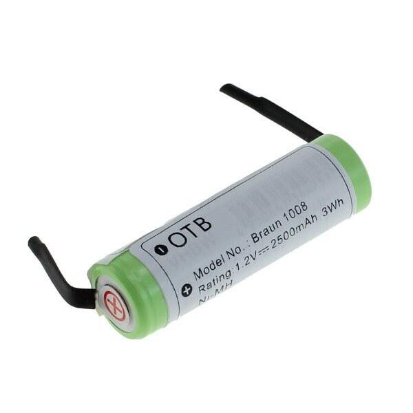 batteri til braun eltandbørste