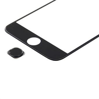 Home-knap iPhone 6s Plus - Sort