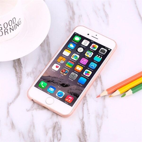 Rødt cover i Carbondesign iPhone 6 Plus & 6s Plus