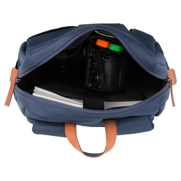 """DELTACO ryggsäck för laptops, upp till 15,6"""" Blå"""