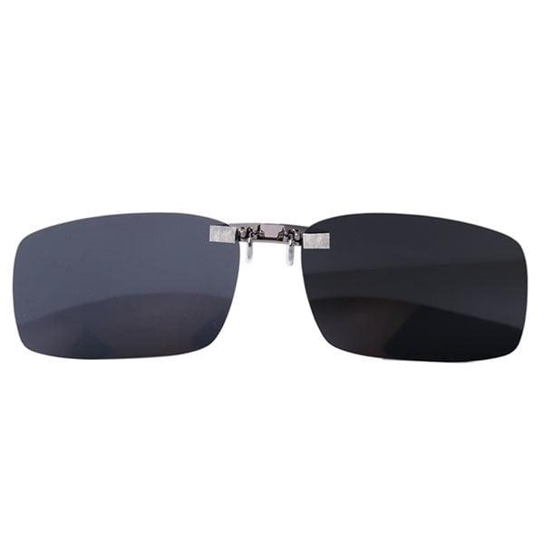 Clip on Solbriller Størrelse Large Køb på 24hshop.dk