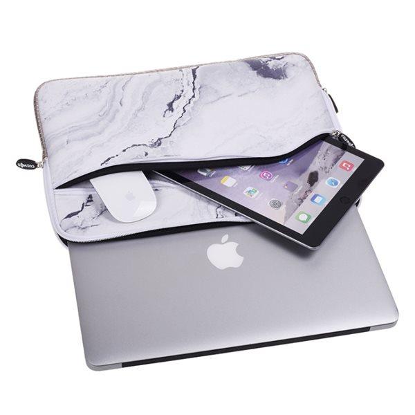 """Marmor Sleeve MacBook 13.3"""" Hvid"""