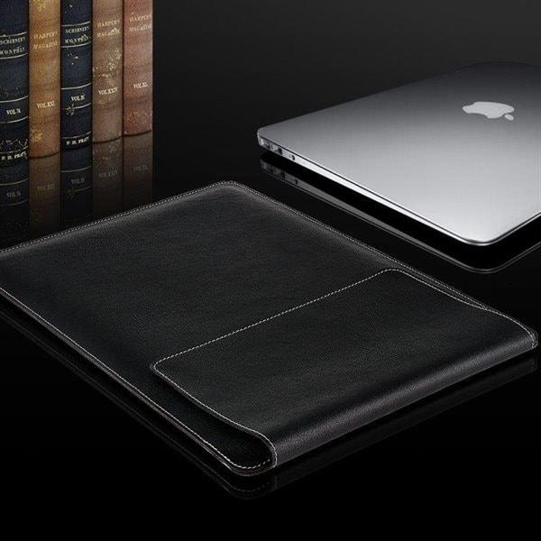 "PU Läderfodral / väska MacBook 13"" - 4 väskor i 1"