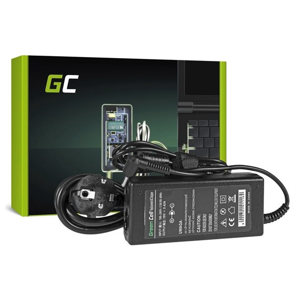 Green Cell lader AC Adapter til Asus 65W 19V 3.42A 4.0 1.35mm